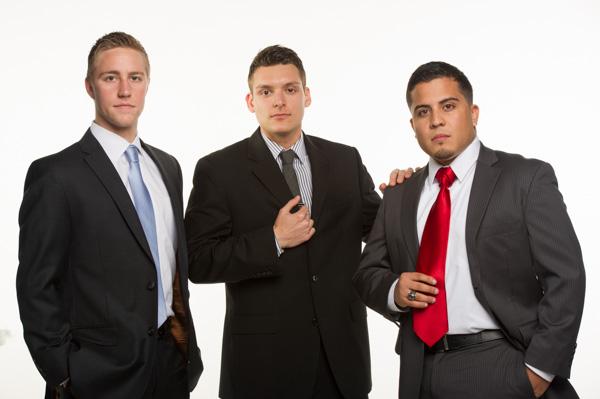 Chris, Greg, Evans