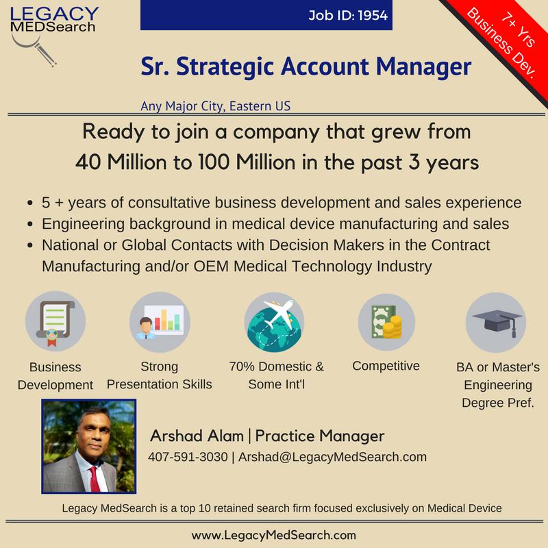 Senior Strategic Account Manager