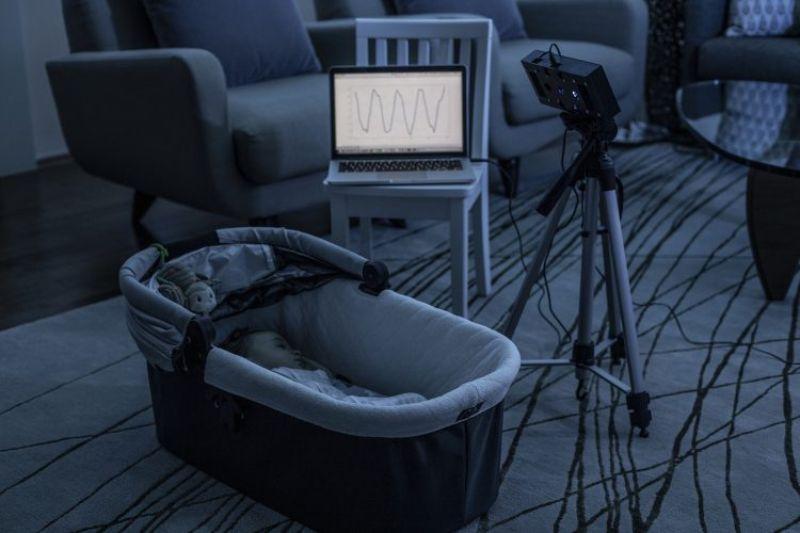 Smart Speaker Skill Monitors Baby S Breathing Using White