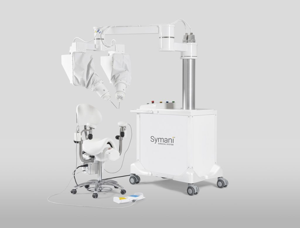 the symani robotic surgery system by medical microinstruments
